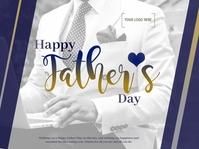 Father's Day Presentazione template