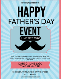 HAPPY FATHER'S DAY EVENT Flyer template