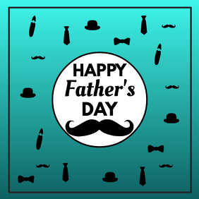 Happy Father's Day Greetings Celebration