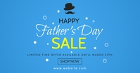 happy father's day sales template design face Facebook-advertentie