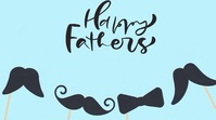 Happy Father's Day Wishes Animation Gif Digitalt display (16:9) template