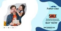 Happy father dia del padre Facebook Event Cover template