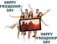 Happy friendship day Iflaya (Incwadi ye-US) template
