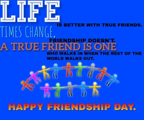 HAPPY FRIENDSHIP DAY TEMPLATE Medium Reghoek