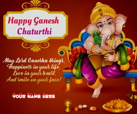 Happy Ganesh Chaturthi wishes Groot Reghoek template