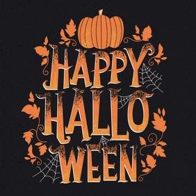 happy halloween, halloween instagram templat