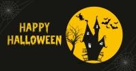 Happy Halloween Banner Template Immagine condivisa di Facebook