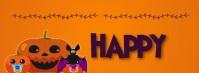 Happy Halloween Banners Portada de Facebook template