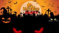 happy Halloween Blog Header post template