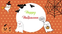 Happy Halloween Card template Digital Display (16:9)