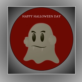 HAPPY HALLOWEEN DAY POSTER 3 TEMPLATE