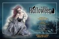 Happy Halloween Affiche template