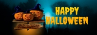 happy halloween Couverture Facebook template