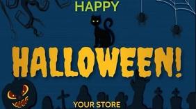 HAPPY HALLOWEEN Affichage numérique (16:9) template