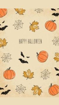 Happy Halloween Instagram 故事 template
