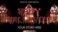 HAPPY HALLOWEEN Pantalla Digital (16:9) template