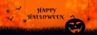 happy halloween Portada de Facebook template