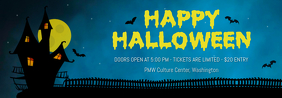 Happy Halloween Event Invite Tumblr Header Template
