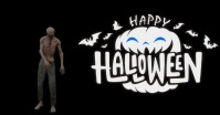 happy halloween FACEBOOK COVER post template Isithombe Esabiwe ku-Facebook