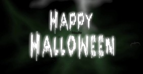 Happy Halloween Facebook post video template