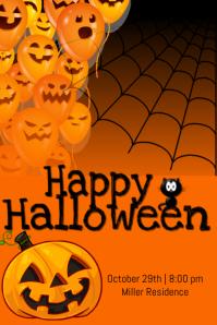 happy halloween similar design templates