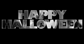 happy halloween greeting facebook shared image template