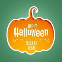 happy halloween instagram post template Logotipo