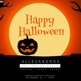 Happy Halloween Instagram Video Template