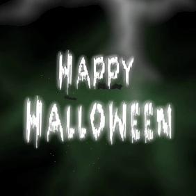 Happy Halloween Instagram video post template