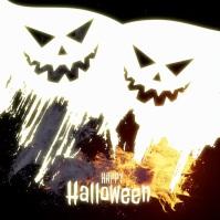 happy halloween instagram VIDEO post template Logo