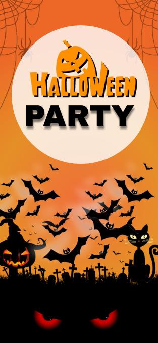 happy Halloween snapchat Geofilter post template