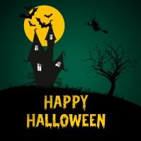 Happy Halloween Template Instagram-opslag