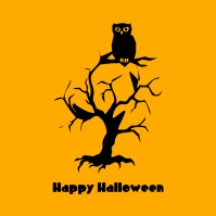Happy Halloween Template Instagram na Post