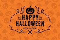 Happy halloween wallpaper design 标签 template