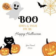 Happy Hallowen for Friend Instagram-bericht template
