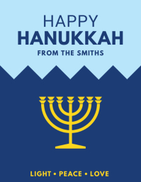 Happy Hanukkah Flyer