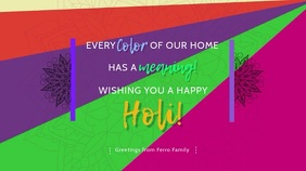 Happy Holi Digital Display Video