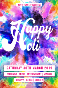 Happy Holi Poster
