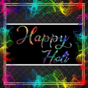 HAPPY HOLI POSTER FLYER