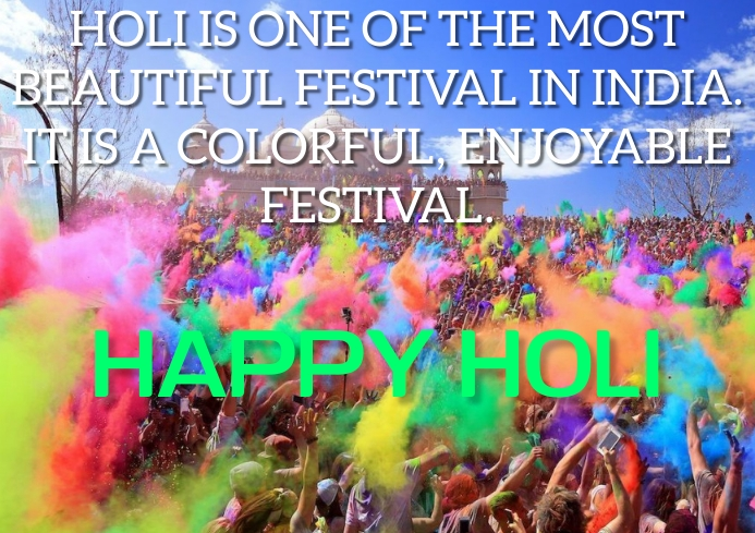 HAPPY HOLI QUOTE TEMPLATE A2