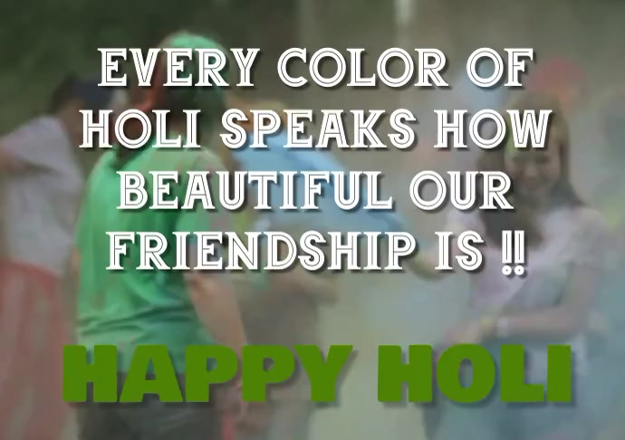 HAPPY HOLI QUOTE TEMPLATE A1