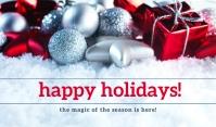 Happy Holiday Tag Templates
