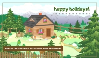 Happy Holiday Tags 标记 template