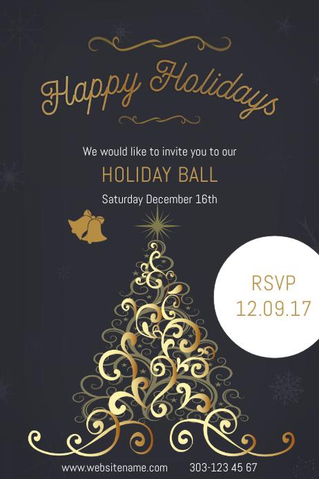Happy Holidays Ball