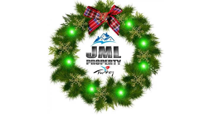 Happy holidays Business logo