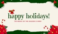 Happy Holidays Card Templates Tanda