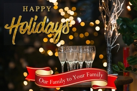 Happy Holidays drinks