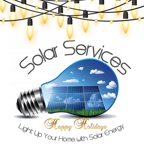 Happy Holidays Solar Services
