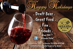 Happy Holidays wine offer