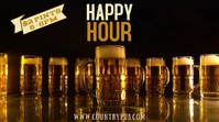 Happy Hour Bar Digital Template